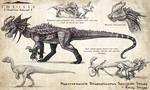 Hyperendocrin Dilophosaurus Fan Concept