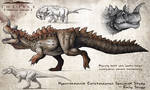 Hyperendocrin Ceratosaurus Fan Concept