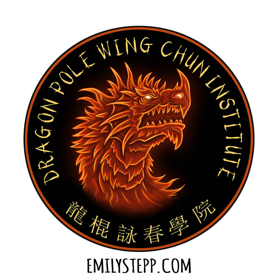 Dragon Pole Wing Chun Institute Logo Design by EmilyStepp on