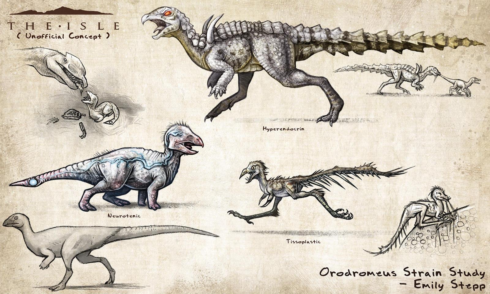 The Isle Fan Concept - Orodromeus Strains by EmilyStepp