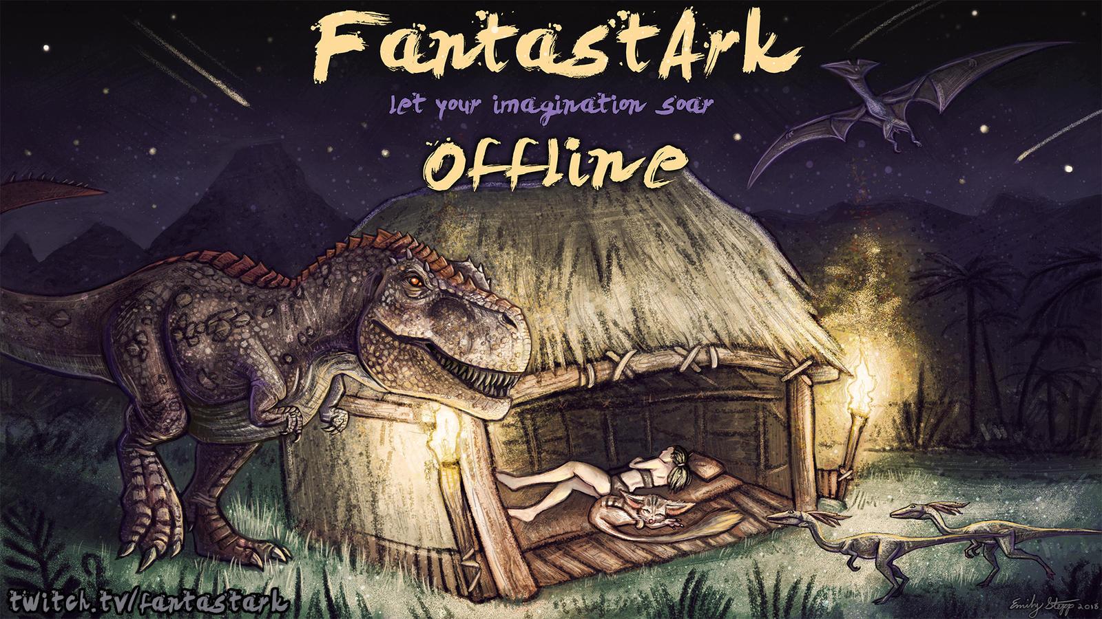 FantastArk Offline Channel Art by EmilyStepp