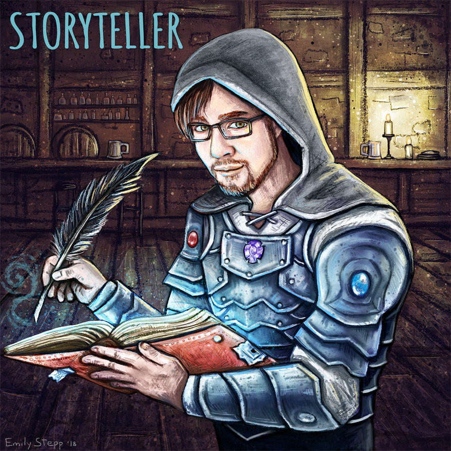 Storyteller Commission by EmilyStepp