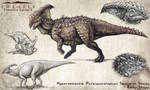 Hyperendocrin Parasaurolophus Fan Concept