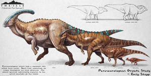 The Isle Parasaurolophus Growth Fan Concept by EmilyStepp