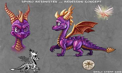 Spyro Reignited mini Redesign Concept