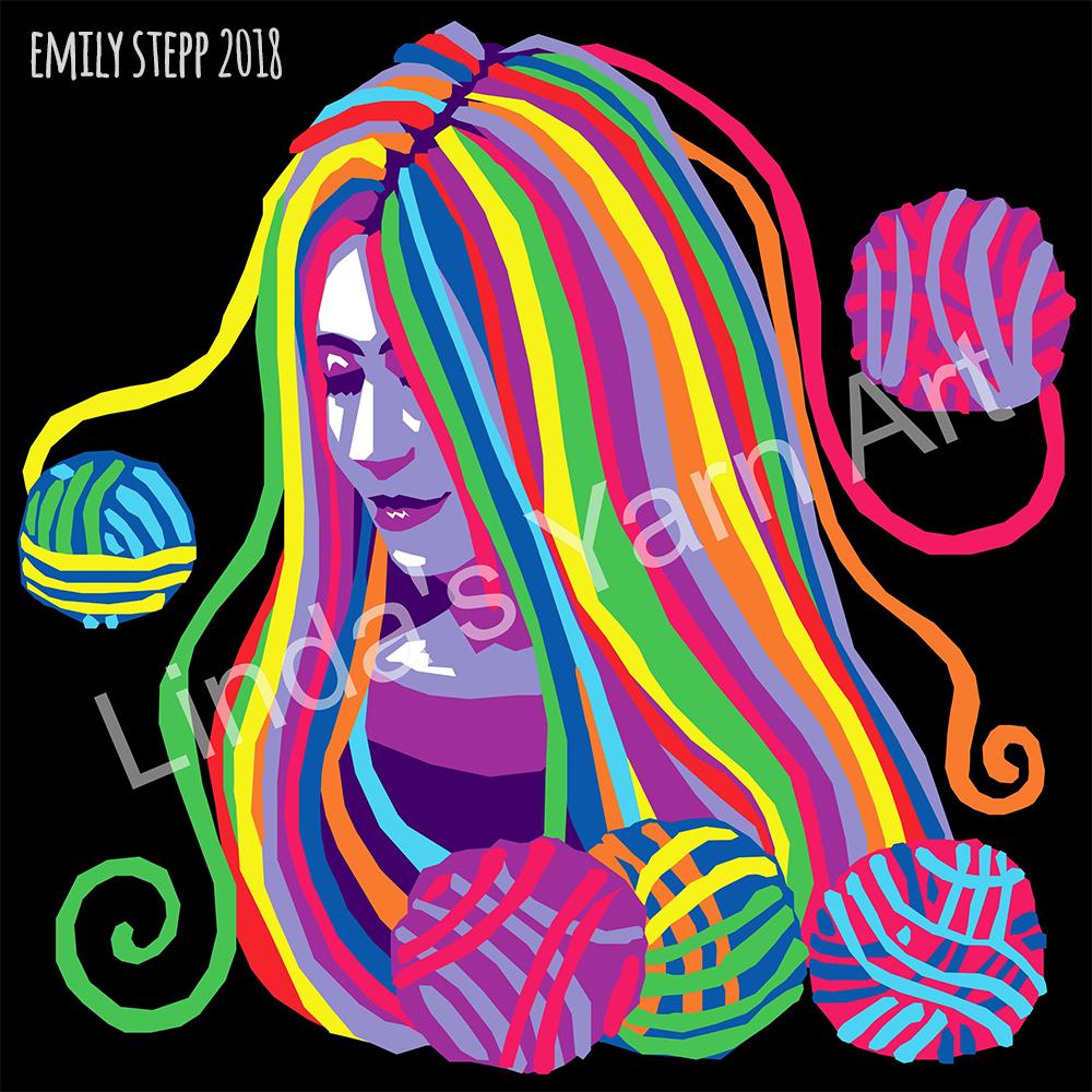 Yarn Goddess Design by EmilyStepp