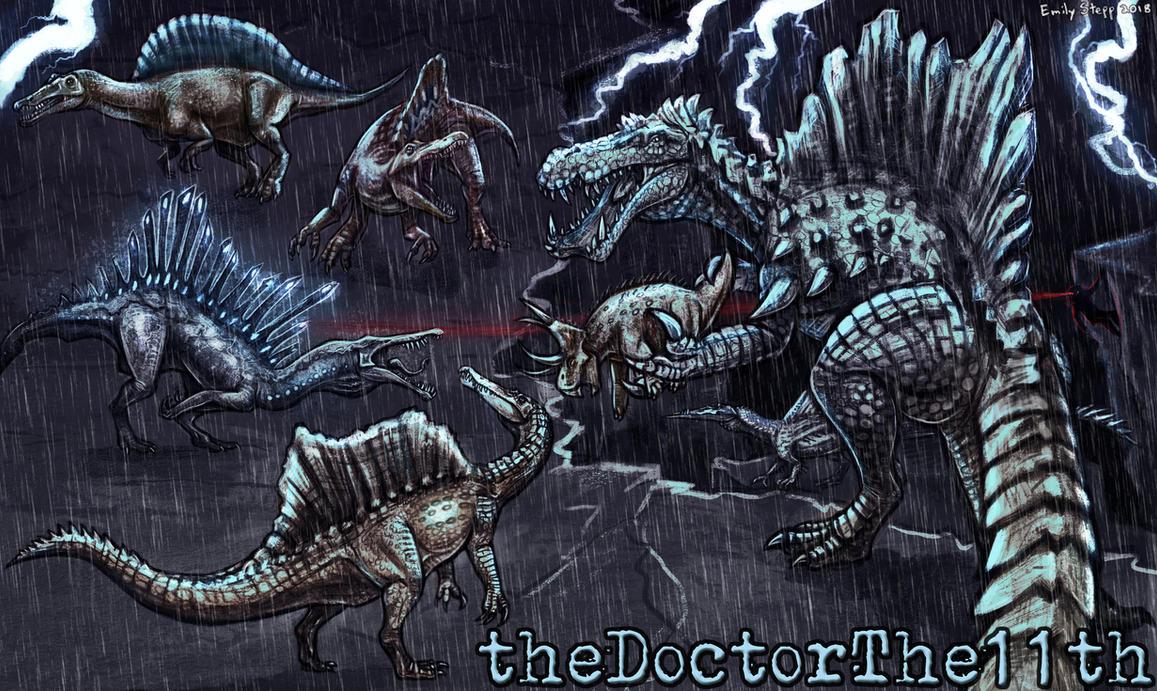 Spinosaurus Crossover Channel Art by EmilyStepp