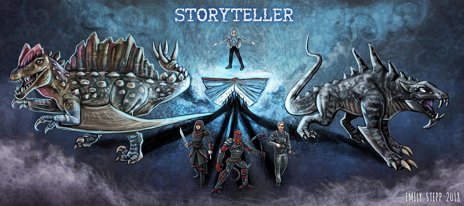 Storyteller Banner by EmilyStepp