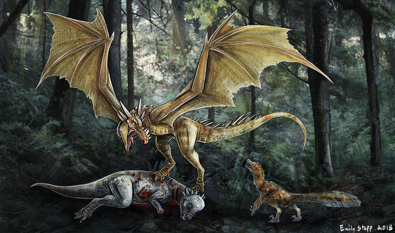Dracorex hogwartsia Dragon Concept Commission 2 by EmilyStepp