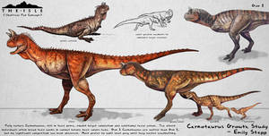The Isle Carnotaurus Growth Fan Concept
