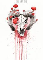 Inktober 2018 Day 1 Poisonous by EmilyStepp