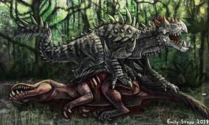 Ryatroxos Monster Hunter Commission by EmilyStepp