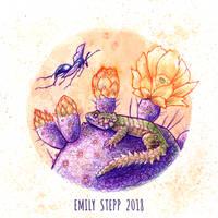 Inktober 2018 Day 25 Prickly by EmilyStepp