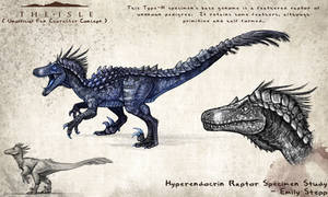 Hyperendocrin Raptor Character by EmilyStepp