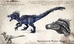 Hyperendocrin Raptor Character