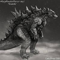 Kaiju Monster March Day 1 - Godzilla by EmilyStepp