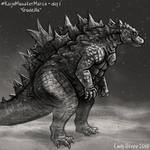 Kaiju Monster March Day 1 - Godzilla