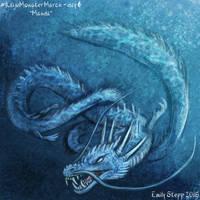 Kaiju Monster March Day 6 - Manda