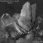 Kaiju Monster March Day 28 - Battra