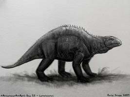 Archosaur Art April Day 23 - Lotosaurus by EmilyStepp