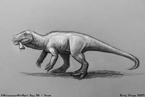 Archosaur Art April Day 30 - Smok by EmilyStepp