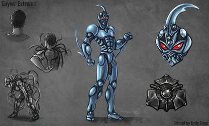 Guyver Extreme Concept Commission