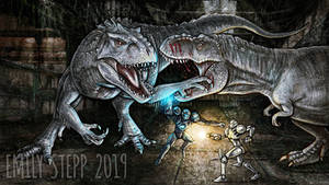 Metroid and Jurassic World Crossover Battle