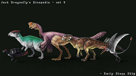 Jack Dragonfly's Dinopedia Set 5