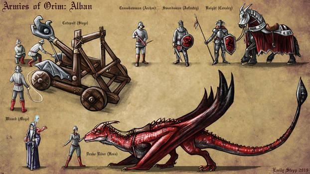 Armies of Orim: Alban Concept