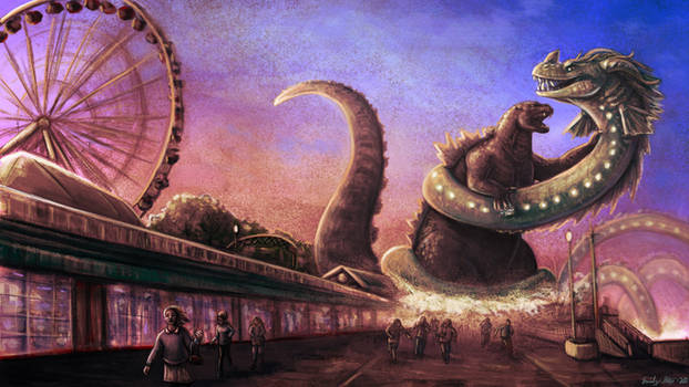 Godzilla in Chicago Part 2