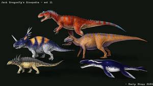 Jack Dragonfly's Dinopedia Set 11