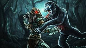 Predator vs American Werewolf in London