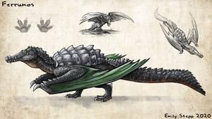 Ferrumos Monster Hunter Concept Commission