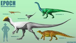 Epoch - Early Jurassic Dinosaurs