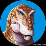 Tiger rex Icon Commission