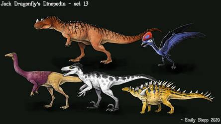 Jack Dragonfly's Dinopedia Set 13
