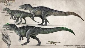 Primitive War 3 Saurophaganax Concept