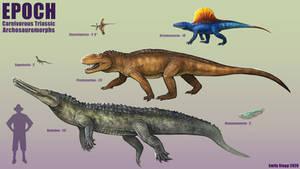 Epoch - Carnivorous Triassic Archosauromorphs