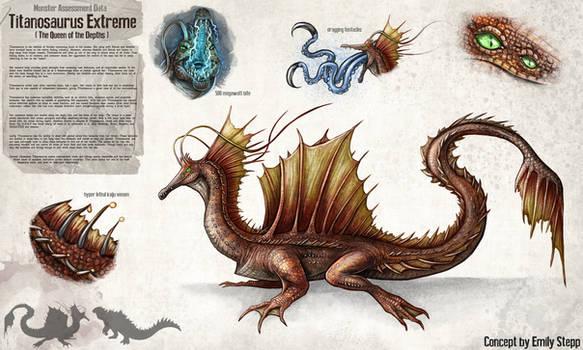Titanosaurus Extreme Concept Commission