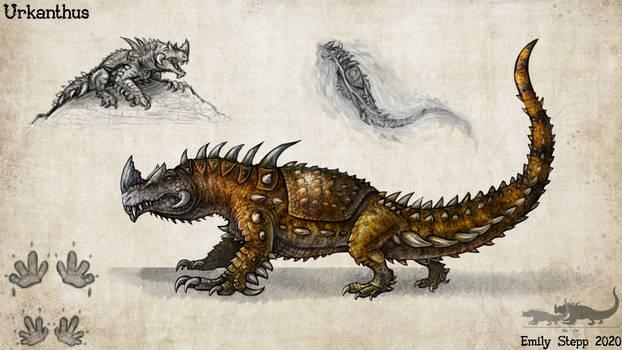 Urkanthus Monster Hunter Concept Commission