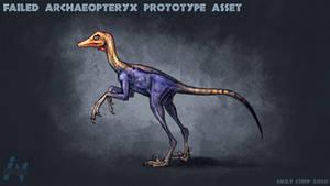 Jurassic Park Style Archaeopteryx Sketch