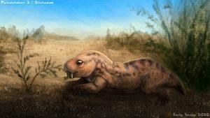 Paleoctober 2 - Diictodon