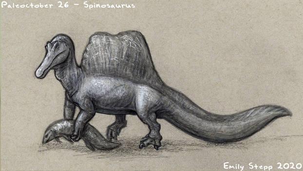 Paleoctober 26 - Spinosaurus