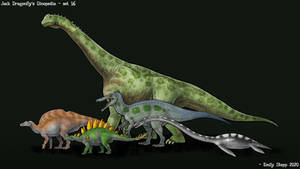 Jack Dragonfly's Dinopedia Set 16