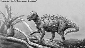 Emausaurus Driftwood - Dinocember Day 2