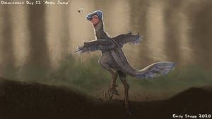 Anzu Jump - Dinocember Day 12