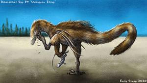 Ubirajara jubatus Itchy - Dinocember Day 14