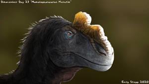 Monolophosaurus Keratin - Dinocember Day 23