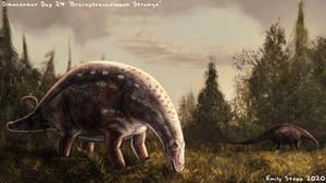 Brachytrachelopan Strange - Dinocember Day 24