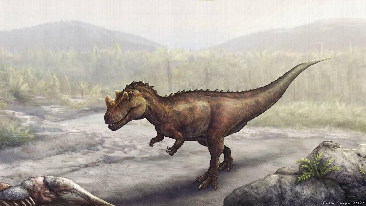 Ceratosaurus Scene